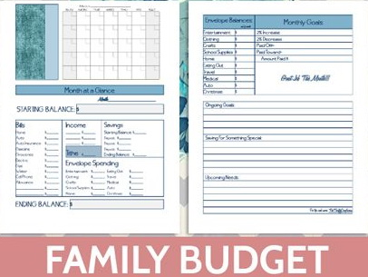Family Budget Planner-Take Control of Your Family Budget - In Article