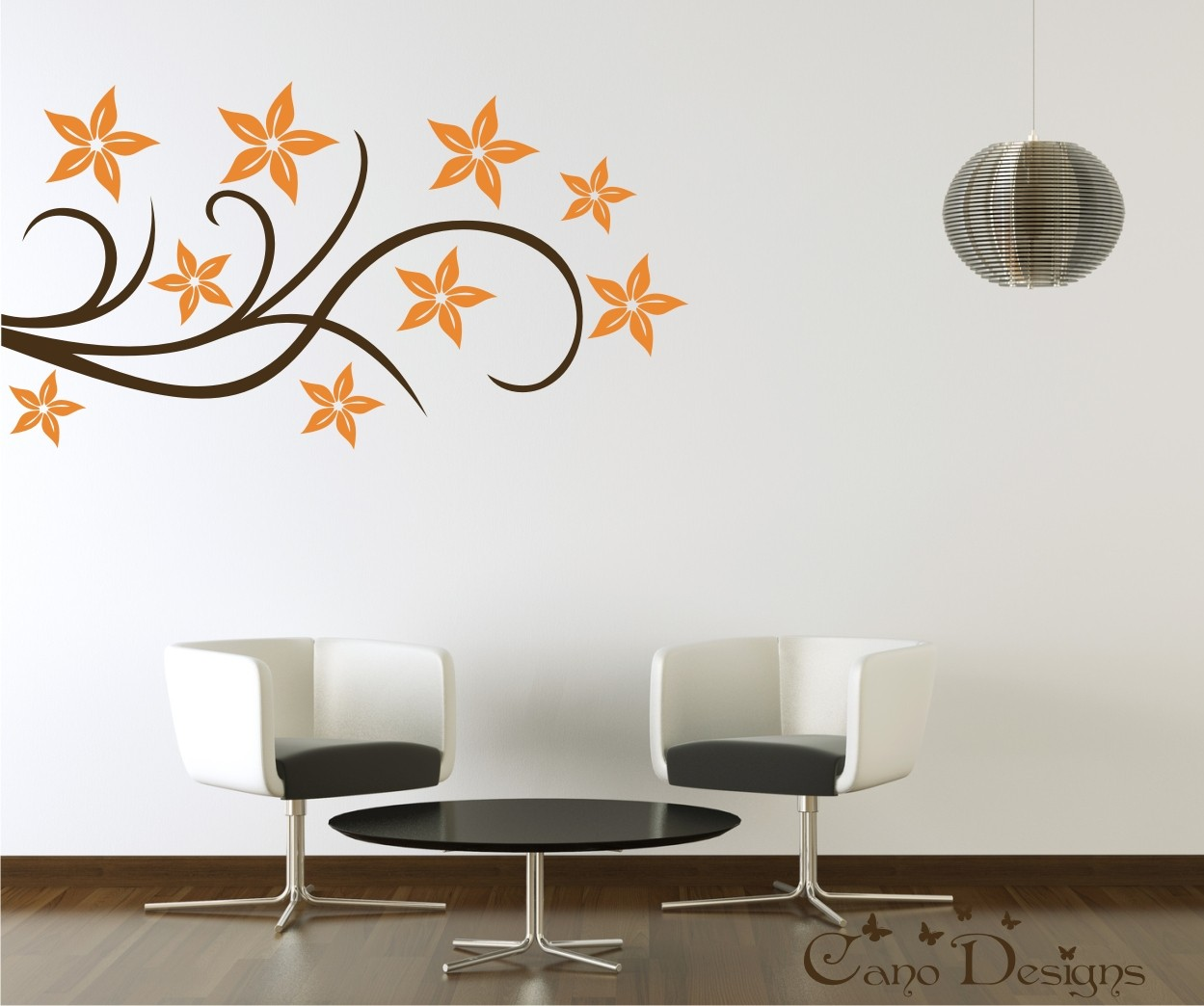 Wallpaper dinding ruang tamu minimalis yang perlu anda