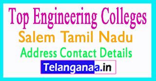 Top Engineering Colleges in Salem Tamil Nadu