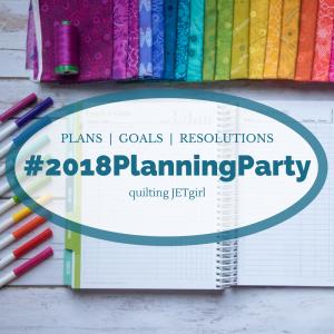 Planning my 2018 quilty goals