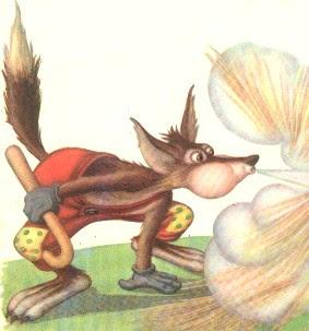 El Lobo de Los 3 Cerditos - cuentos infántiles