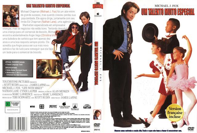 Capa DVD Um Talento Muito Especial