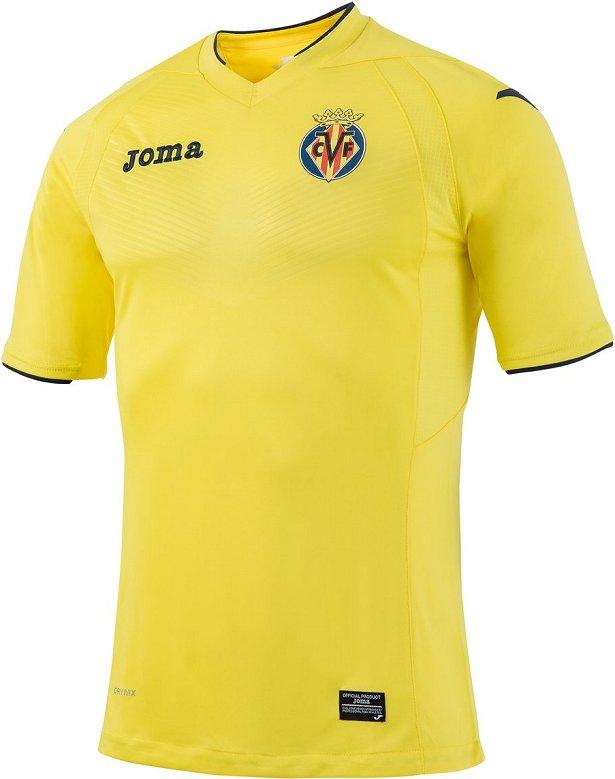 817fbf35d9 Joma lança as novas camisas do Villarreal - Show de Camisas