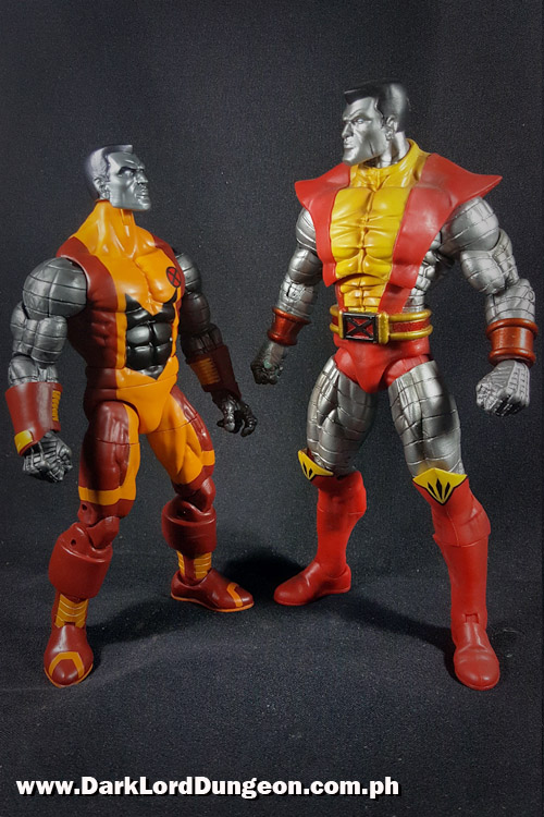 Marvel Legends Colossus and Marvel Select Colossus