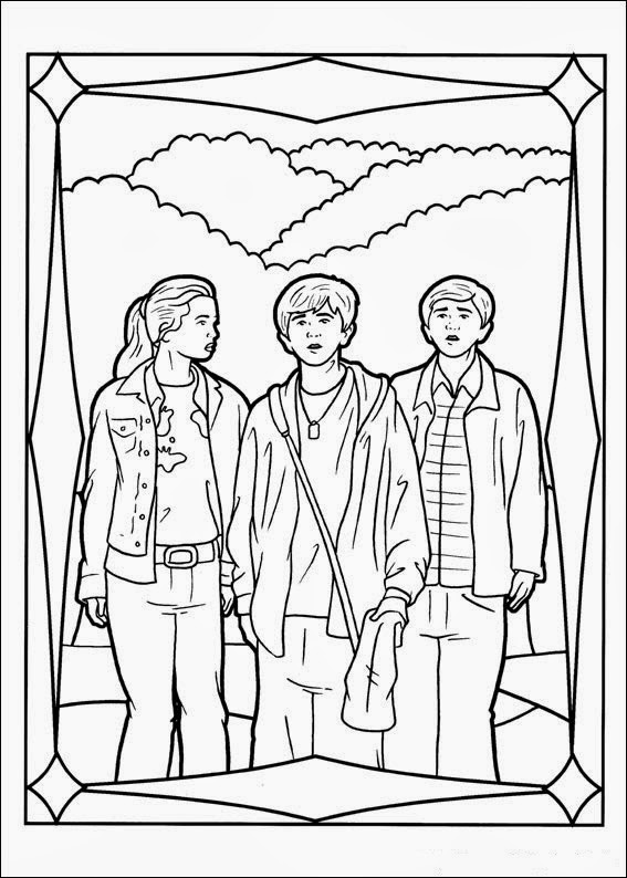 spiderwick coloring pages | Fun Coloring Pages: The Spiderwick Chronicles Coloring Pages