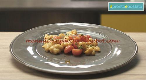 Pronto e postato - Gnocchetti di mare ricetta Benedetta Parodi