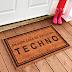 Felpudos Techno - Colabora contra el cáncer y decora tu casa