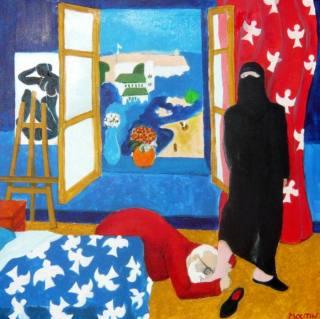 Современный французский художник. Bernard Moutin