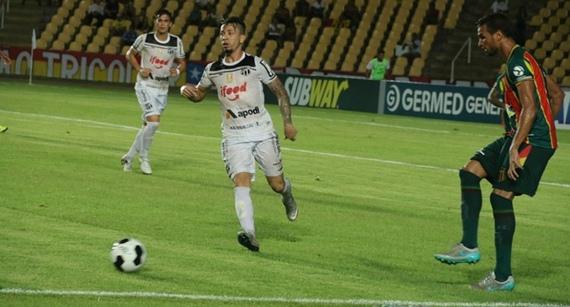Sampaio fica no empate com o Ceará e segue na liderança do grupo E
