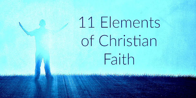 This 1-minute devotion shares 11Elements of Faith found in Hebrews 11. A wonderful look at the substance, actions, and results of faith. #BibleLoveNotes #Bible