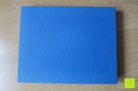 Rückseite: High Pulse Balance Pad – Die gelenkschonende Koordinationsmatte zum Training von Gleichgewicht und Stabilität sowie zur Therapie nach Muskelverletzungen (Blau)