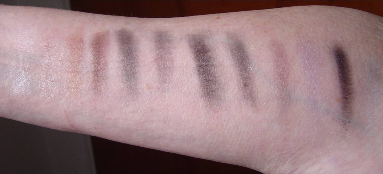 swatches of theGlam 'Eyes Quad Eye Shadows.jpeg