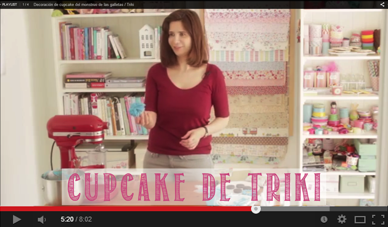 video decoracion cupcakes