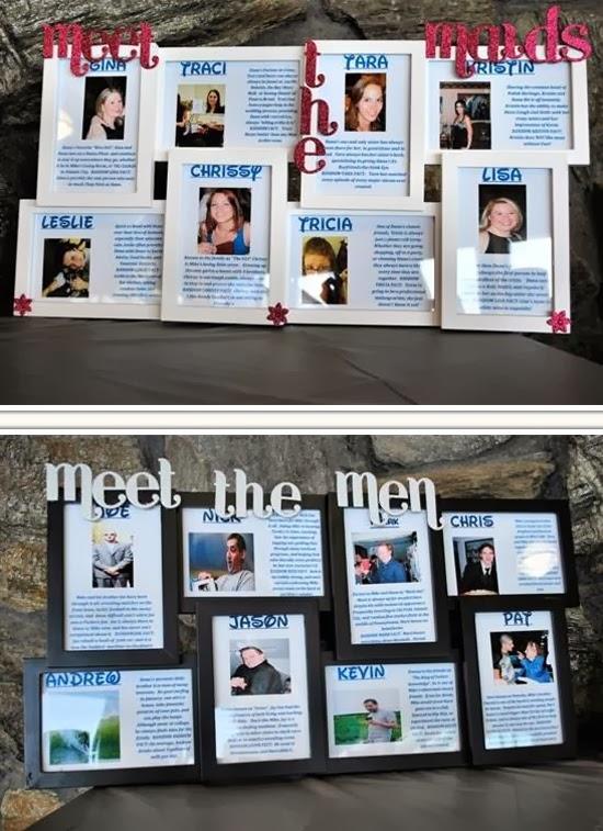 meet the bridesmaids frame