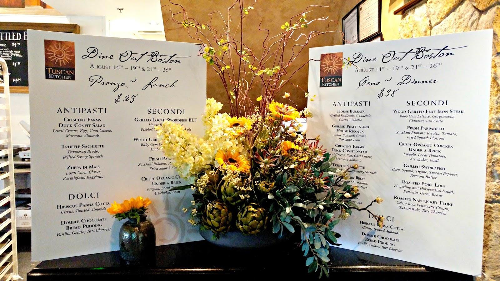 Mami-Eggroll: Dine out Boston Summer 2016: Tuscan Kitchen Burlington