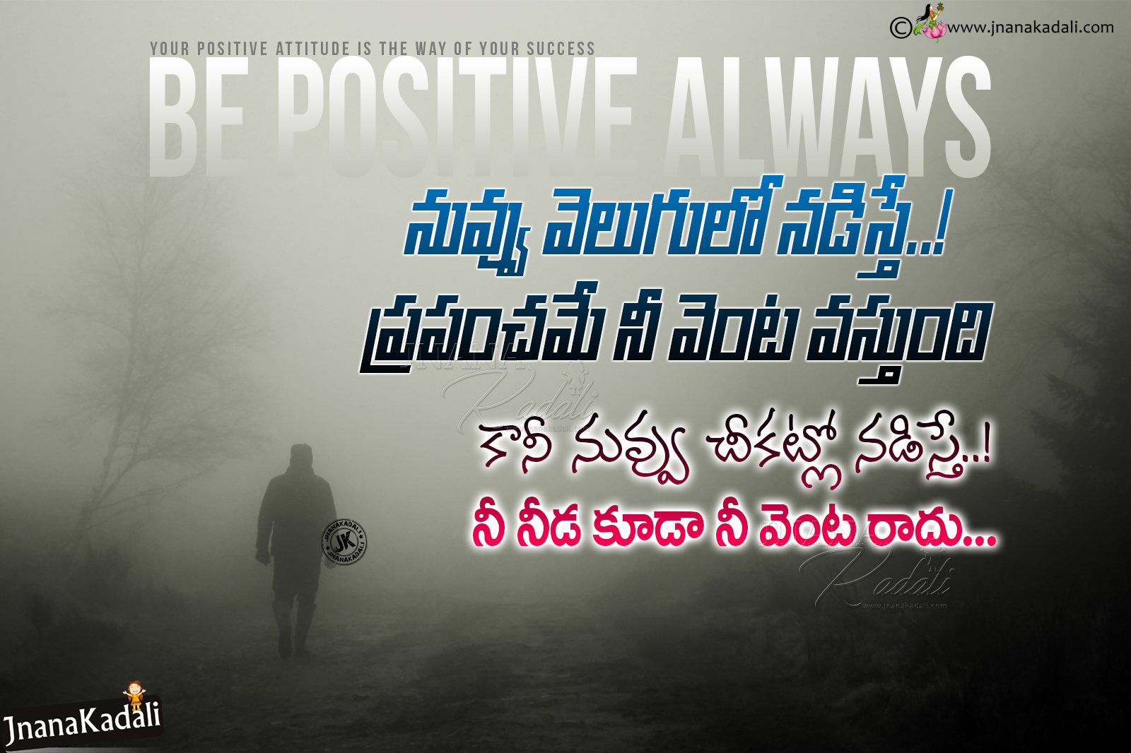 Self Motivational Confidence Quotes In Telugu Positive Thinking