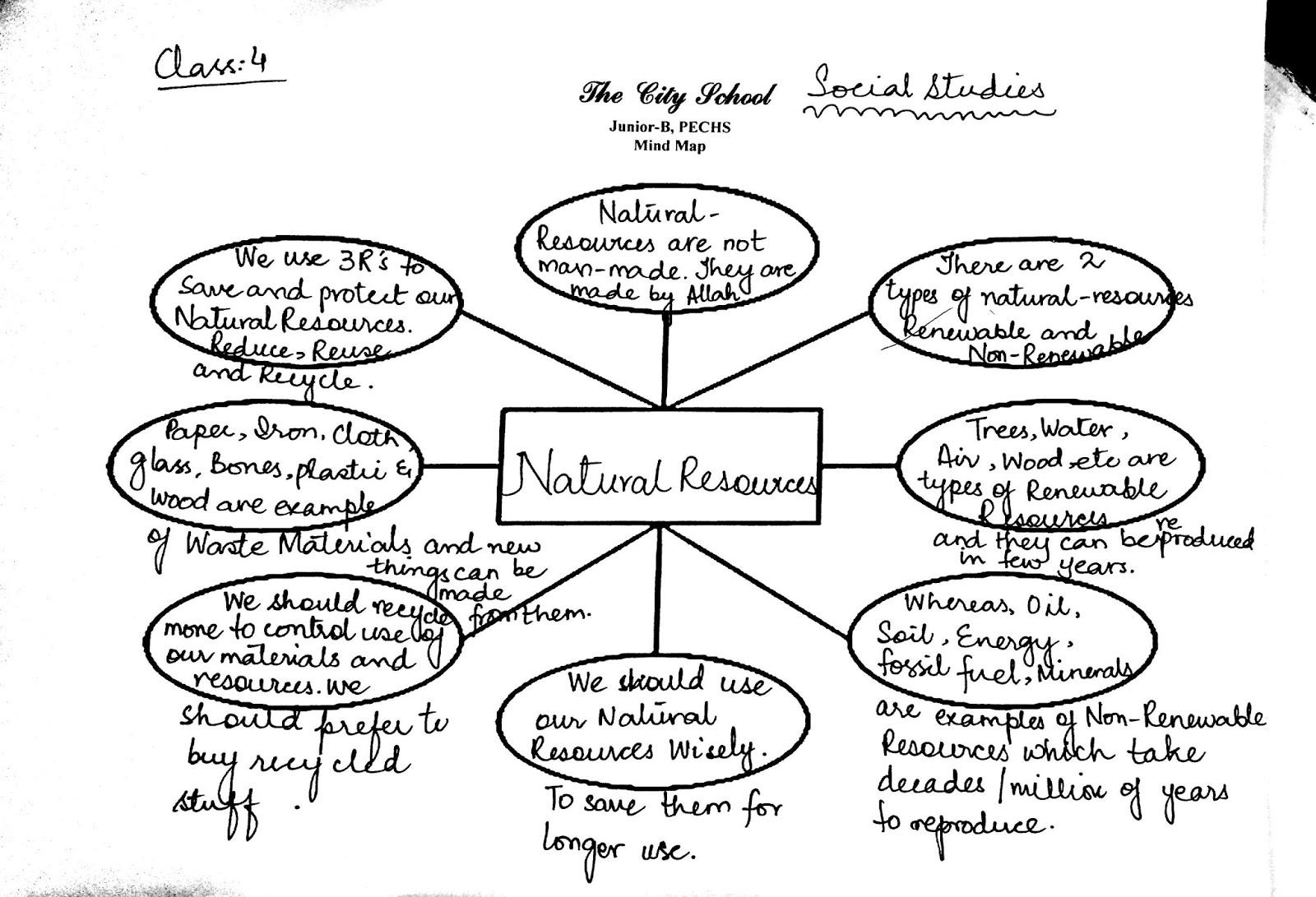 The City School Grade 4 Social Stu S Revision Worksheet