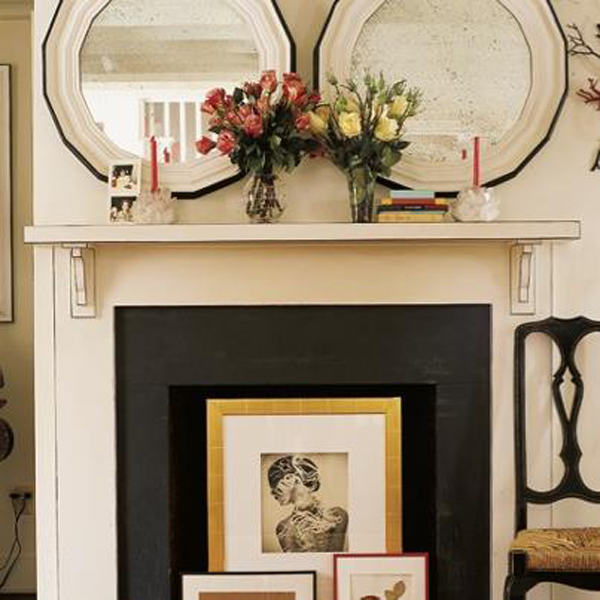 10 creative ideas to decorate your non working fireplace - Decorate non working fireplace ...