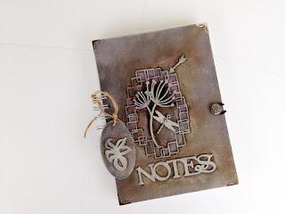 Metaliczny  notes:)