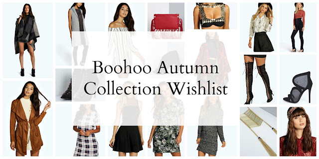Boohoo Autumn Collection wish list