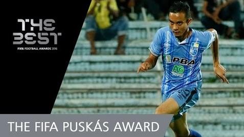 Puskas Fifa 2016: Undilah Mohd Faiz Subri