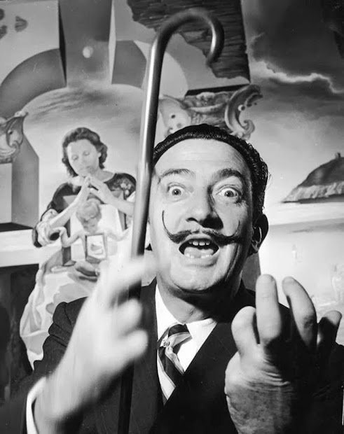 Faces Of Salvador Dali 12 Funny
