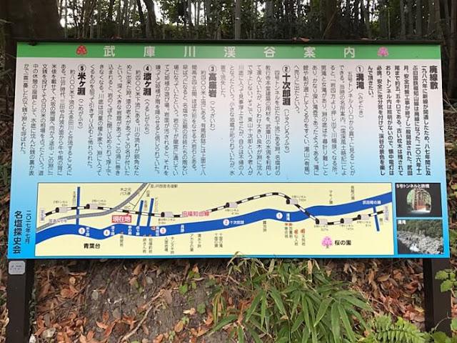 武庫川渓谷案内