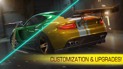 Download Cyberline Racing Apk Mod Unlimited Money Gratis Terbaru