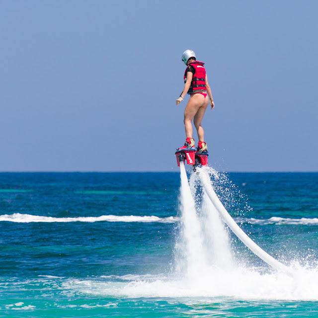 Su Sporları Dendiği Zaman Akla İlk Gelen Spor Dalları - Flyboarding - Kurgu Gücü