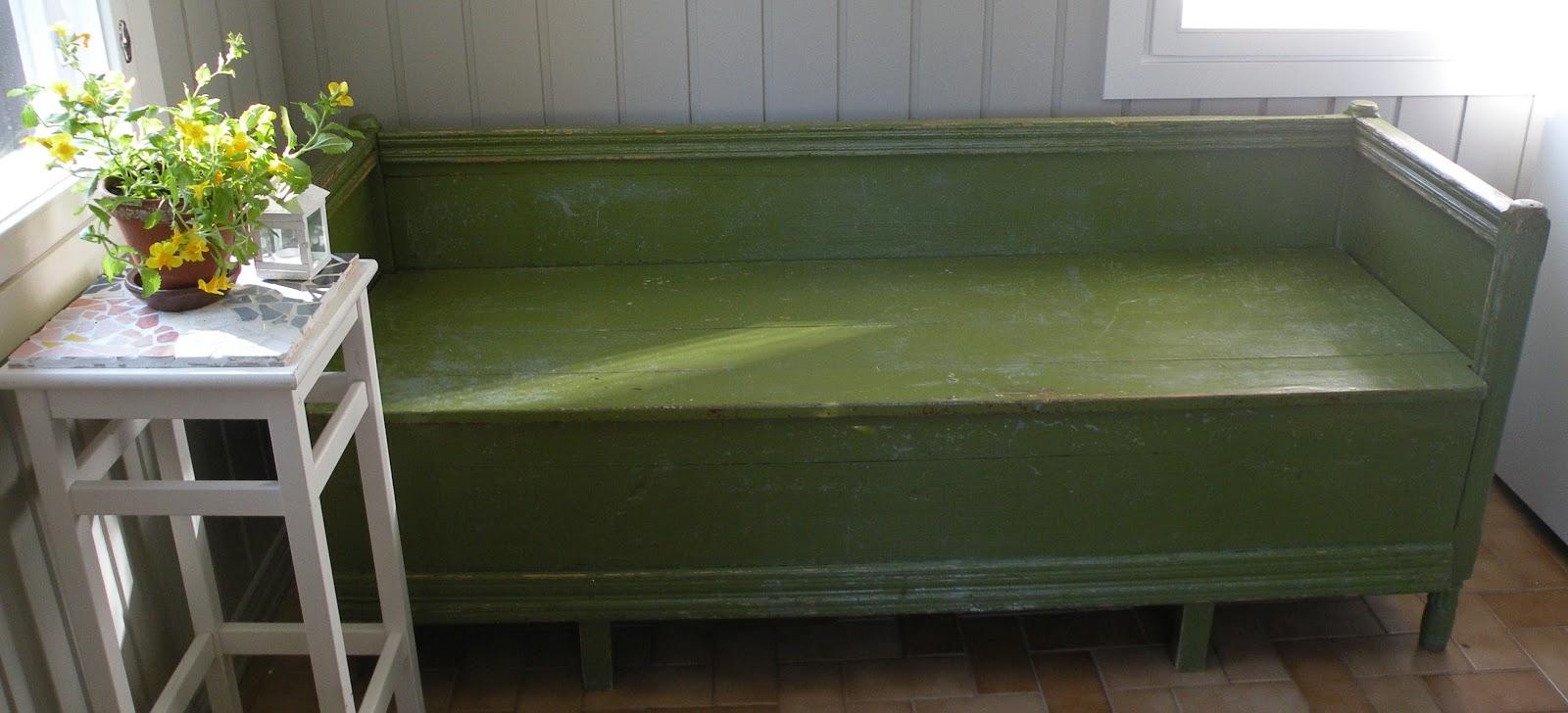 vanha puusohva