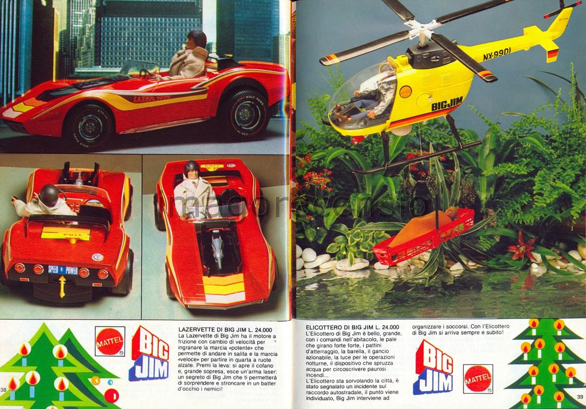 Elicottero Big Jim Anni 80 : Imago recensio catalogo giocattoli mattel natale