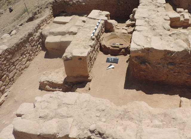 Important data from excavations at Kouklia-Palaipaphos