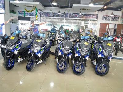 Alasan mengapa Yamaha tidak produksi NMAX Movistar GP