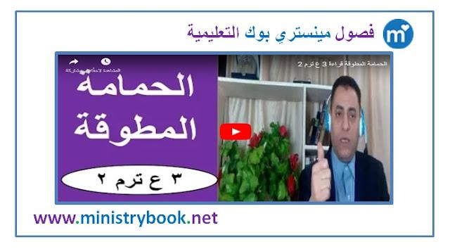 شرح درس الحمامة المطوقة - لغة عربية الصف الثالث الاعدادي ترم ثاني