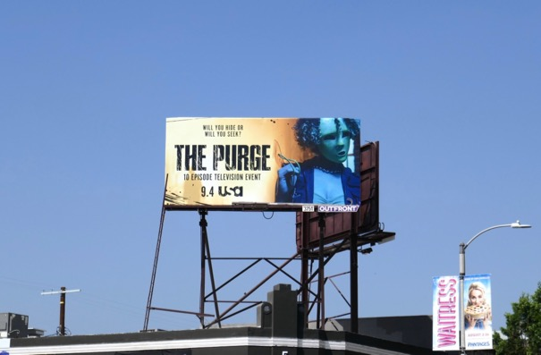 Purge season 1 billboard