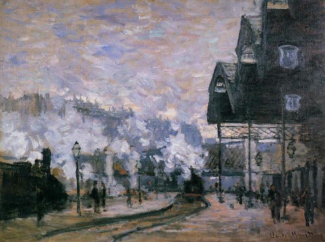 Monet et la Gare Saint Lazare 9%2BLa%2BGare%2BSaint-Lazare%252C%2Bvue%2Bexte%25CC%2581rieure%2BClaude%2BMonet%2B1877