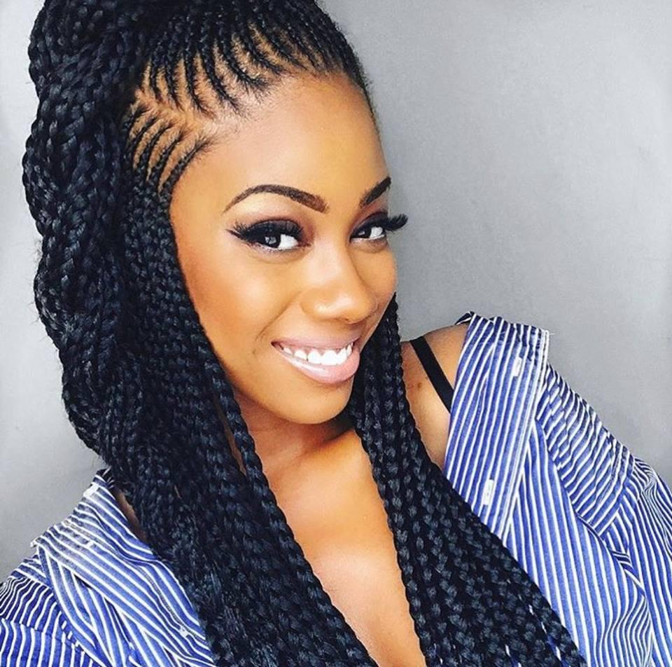 4 Beautiful Cornrow Braid Hair Styles