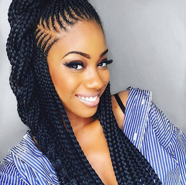 4 beautiful cornrow braid hair