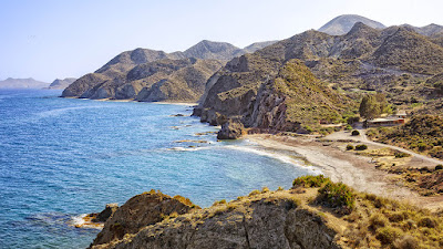 La Cala del Sombrerico, Mojácar, Almería