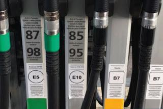 Así son las nuevas etiquetas de los combustibles, en vigor desde octubre