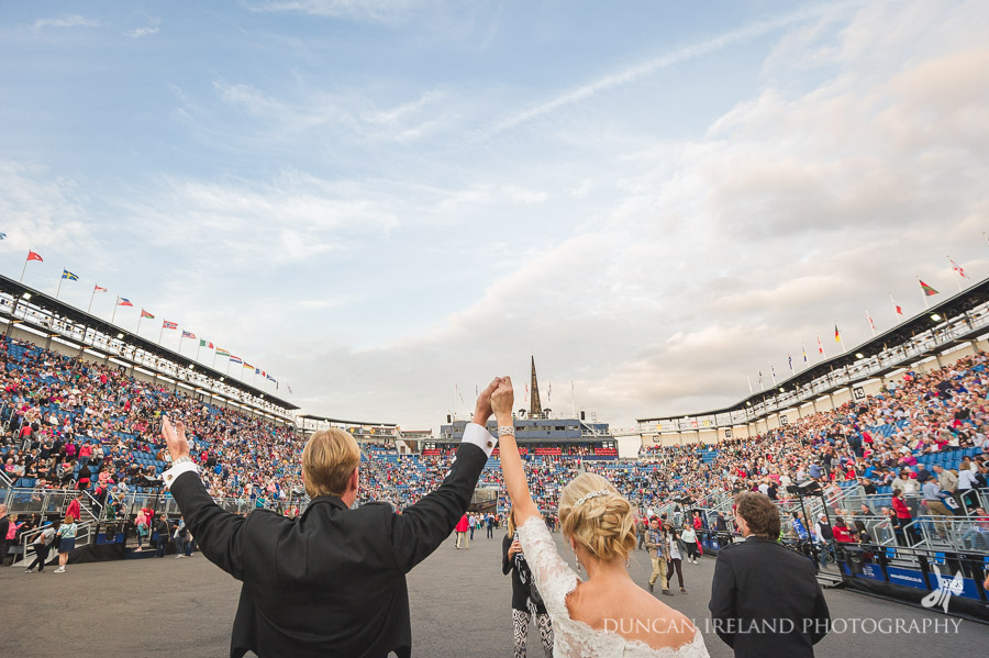 Edinburgh Military Tattoo Wedding Photography