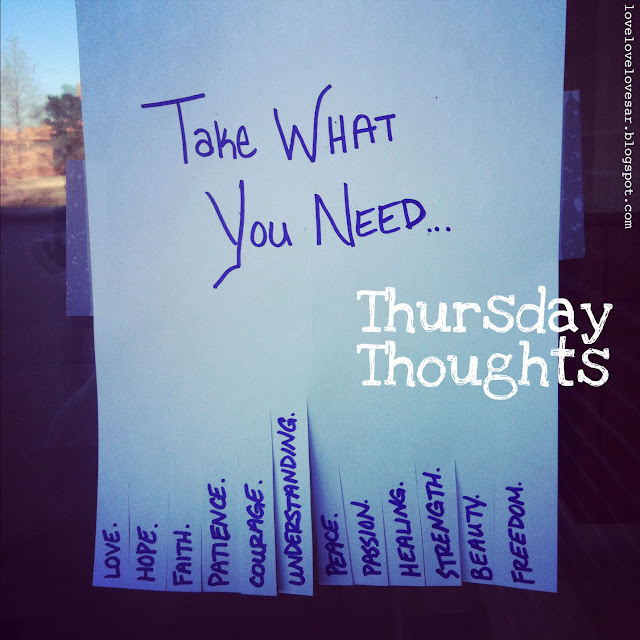La Buena Vida Thursday Thoughts