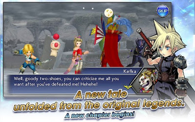 DISSIDIA FINAL FANTASY OPERA OMNIA MOD APK+DATA