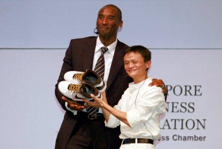Kobe Bryant incorpora a Alibaba como nuevo patrocinador