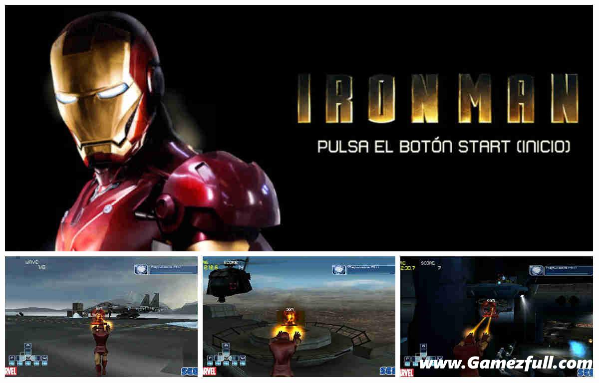 Descargar Iron Man 4 A2zp30: Iron Man PSP (Español