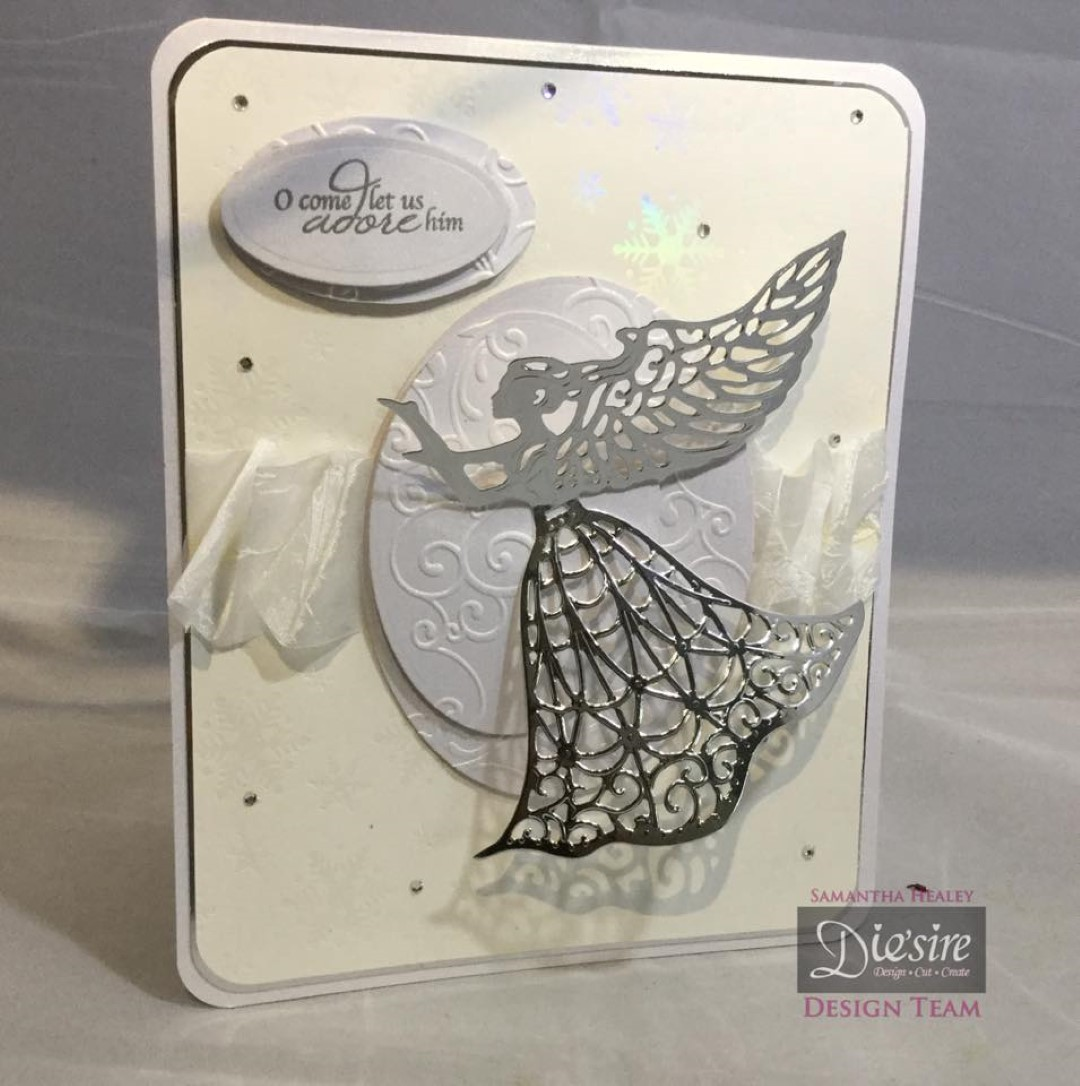 Crafters Companion Sara Signature Traditional Christmas Die Guardian Angel