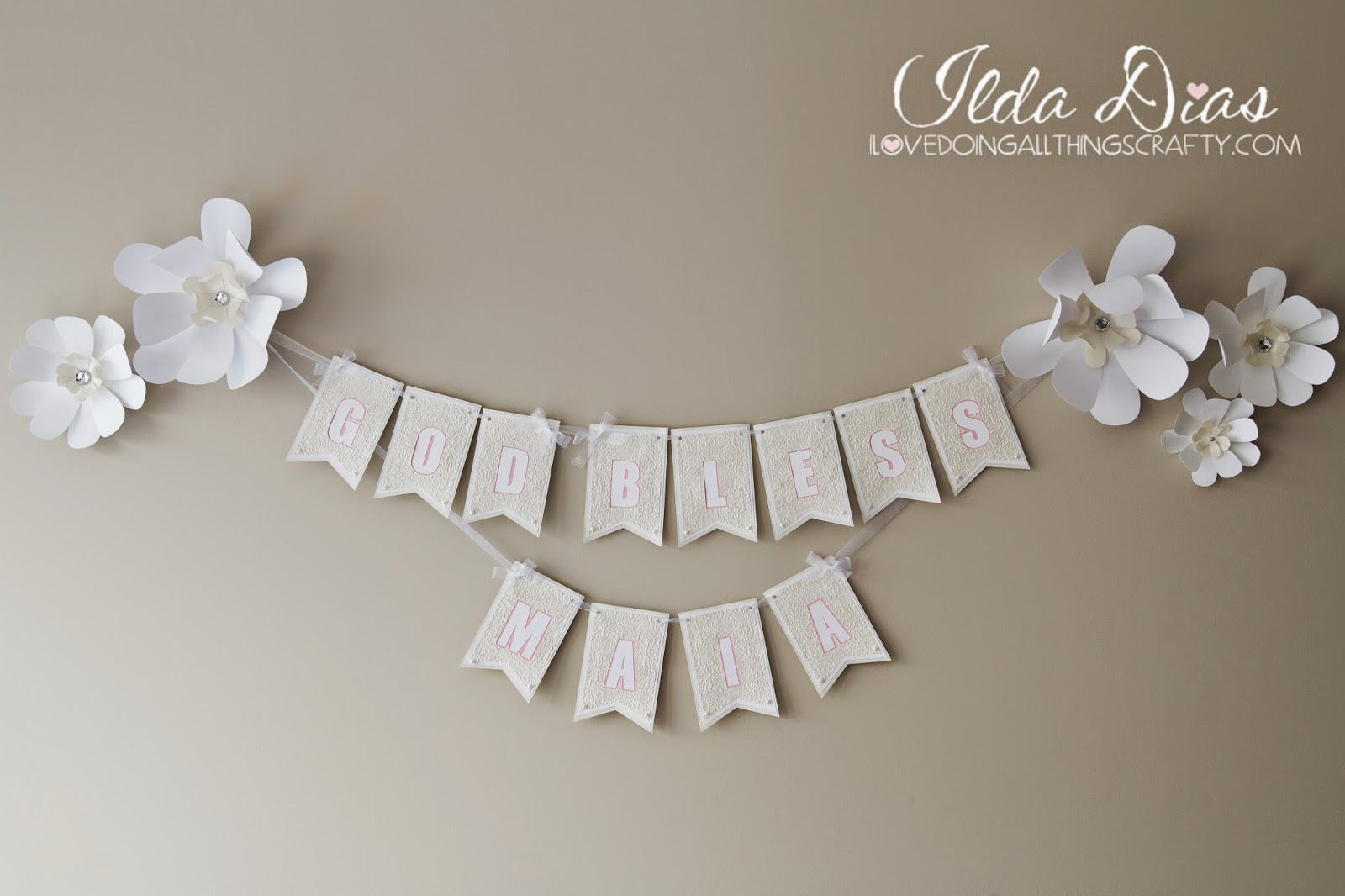 First Communion Day + DIY Decor, Banner