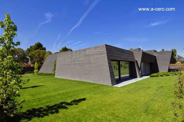 Arquitectura de casas casa de a cero ultramoderna de for Casa ultramoderna