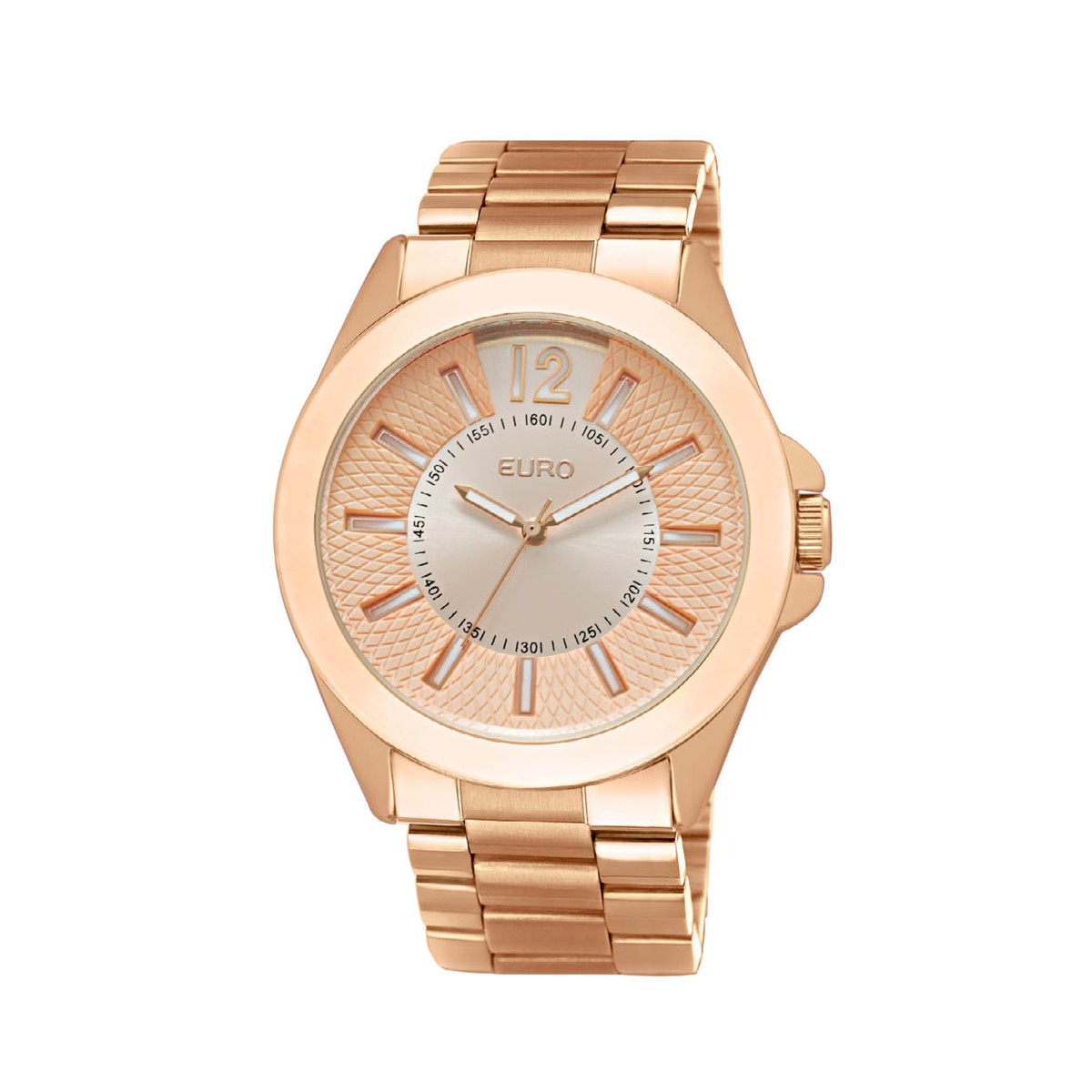 WatchX  Relógio Feminino Analógico Euro Offida EU2035RR 4T - Rose Gold f3622f0000