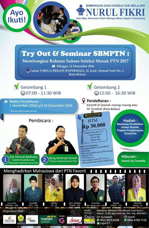 TryOut Seminar SNMPTN-SBMPTN